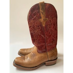 Genuine Leather J.B. DILLON Cowboy Boots